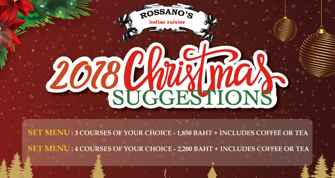 A Special Rossano's Christmas Dinner